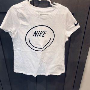 Nike Smiley face tshirt
